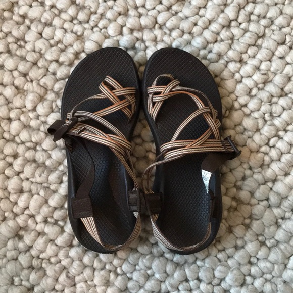Chacos ZX/2 sandals in stripey brown